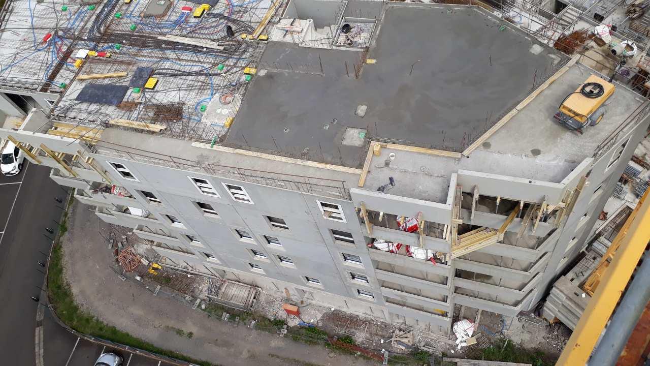 31-05-2019-Dalle-du-6ème-étage-en-cours